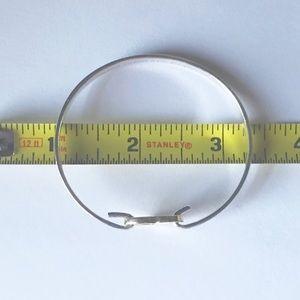 Tiffany & Co. Jewelry - Tiffany & Co Silver/18K Gold Heart Bangle Bracelet